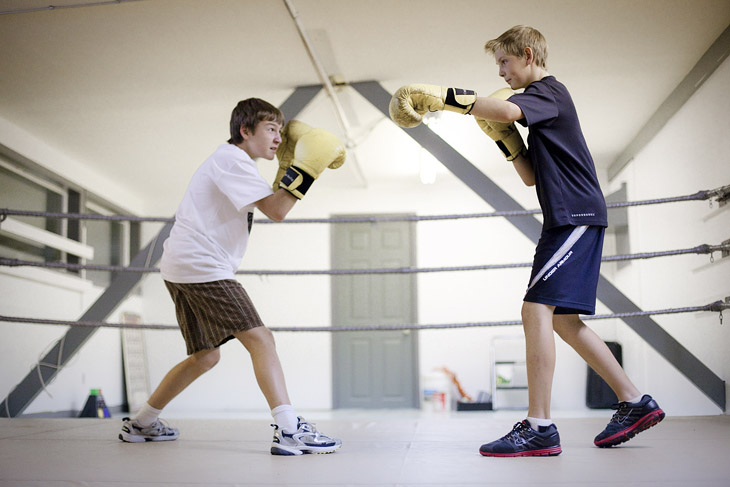 Youth boxers